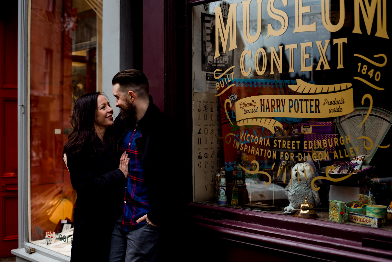harry potter couple shoot