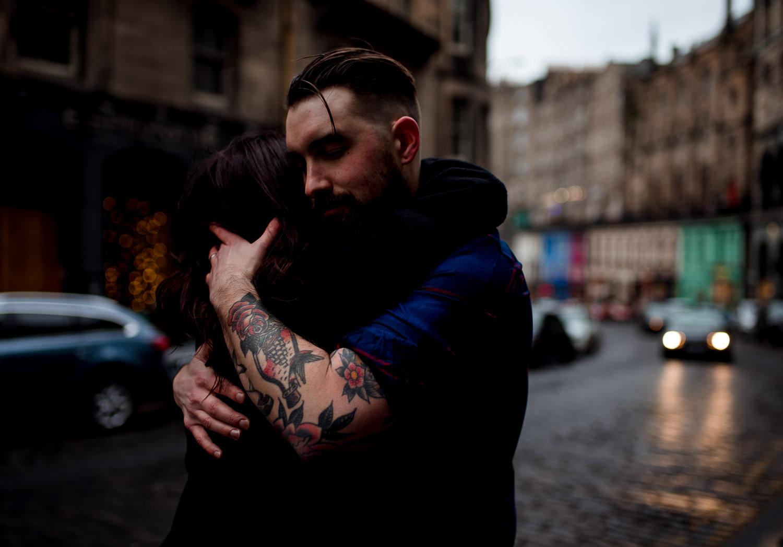 alternative couple shoot photographer