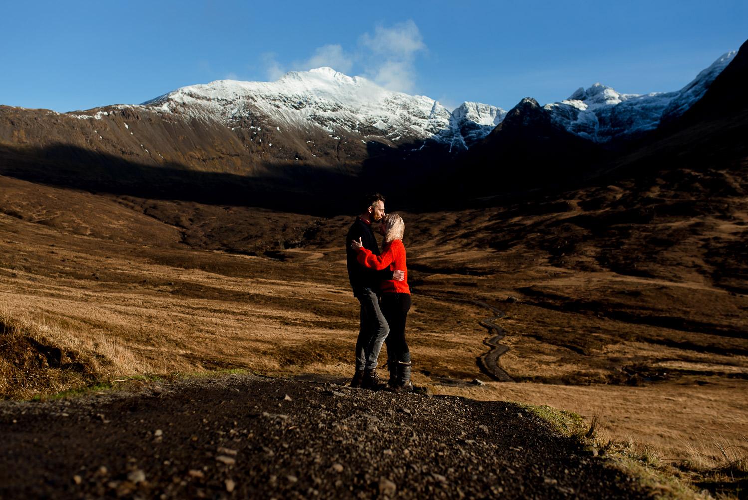 isle of skye engagement photographer
