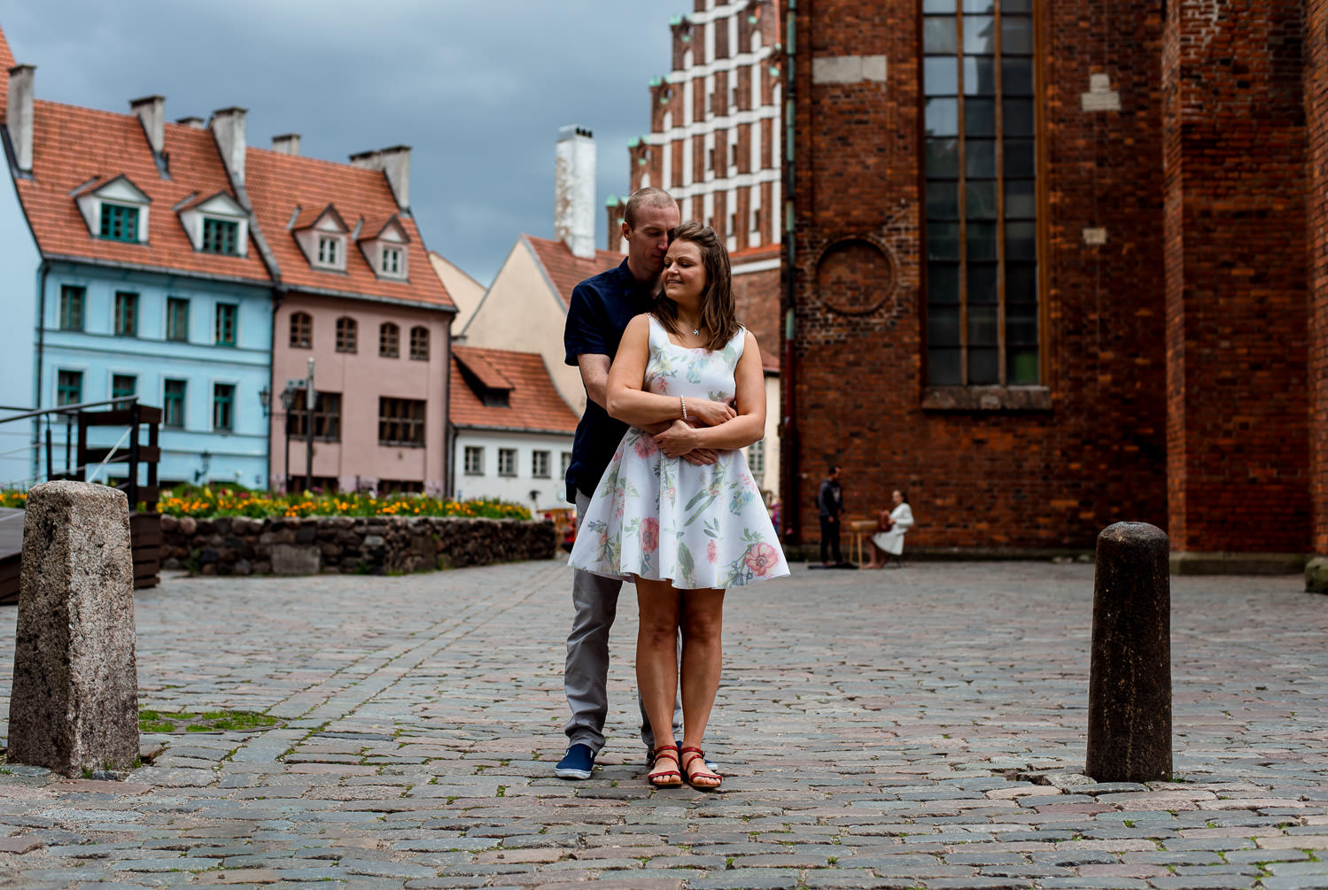 Engagement photo shoot, Latvia