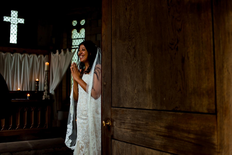 bride at belladrum temple